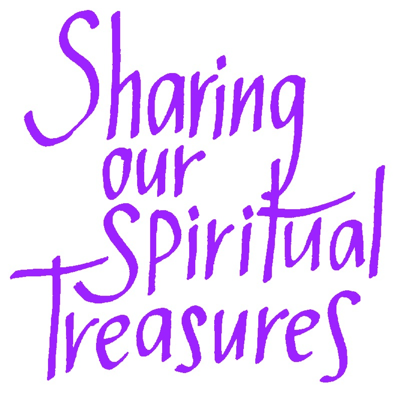 Sharing spiritual treasures pu