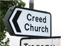 creed church sign