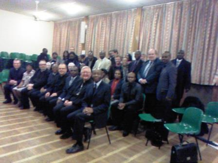 Black Catholic meeting in Birm