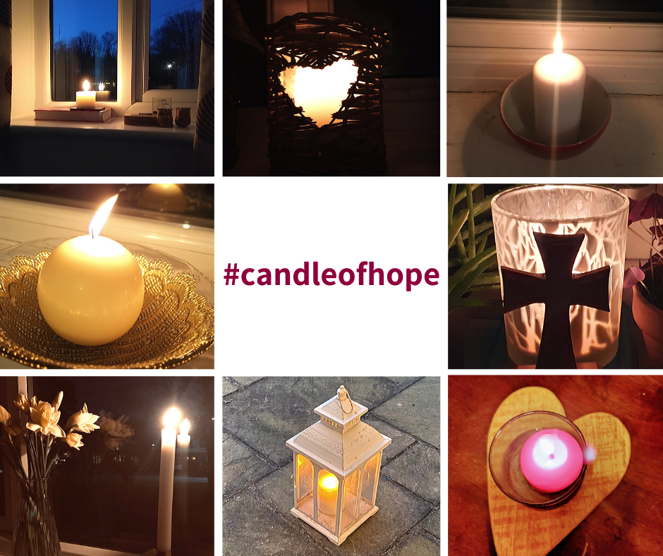 Facebook candle of hope Photo