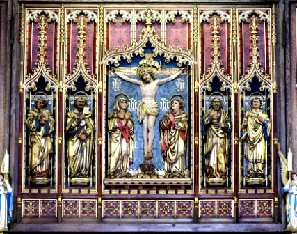 altar screen HT Weymouth