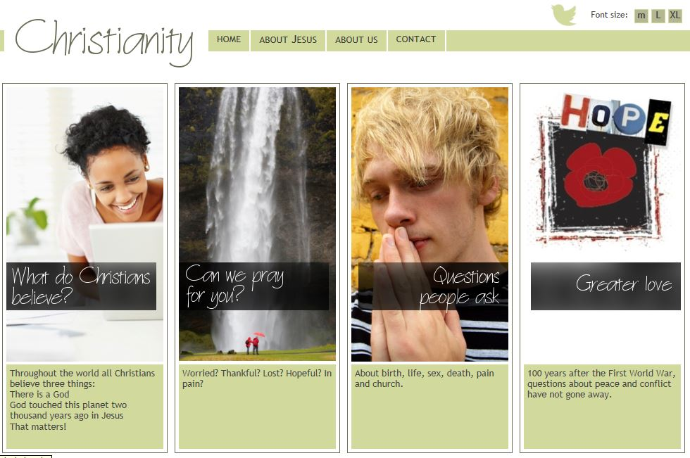Christianity website